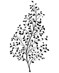Vector Tree Silhouette - Graphic element
