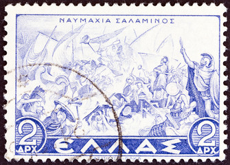 Naval Battle of Salamis (Greece 1937)