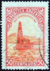 Oil well (Argentina 1936)