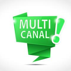 bulle origami : multicanal (cs5)