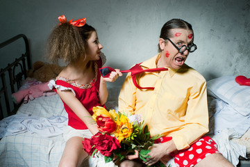 Quarrel of spouses