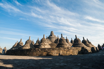 Borobudur, a UNESCO World Heritage Site, Indonesia