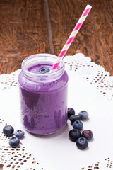 Blueberry smoothie