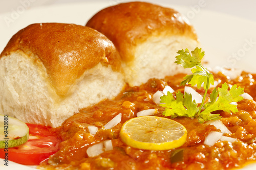Pav Bhaji - Indian snack