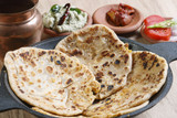 Channa Daal Parantha is an Indian flatbread