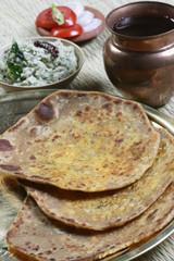Daal ka Paratha – A flatbread made from lentils