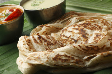 Kerala Paratha – a layered flatbread from Kerala