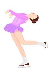 フィギュアスケートーレイバック