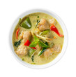 Clown knifefish ball green curry