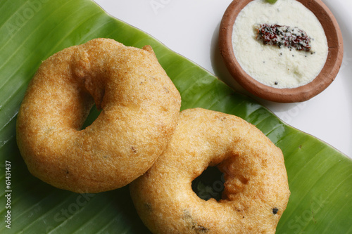 Medu Vada – A South Indian snack