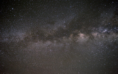 The Milky Way from an astronomical observatory site.
