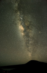 Milky Way from an astronomical observatory site.