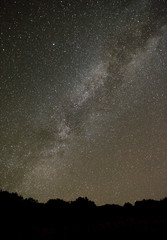 Northern Milky Way from an astronomical observatory site.