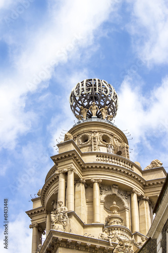 Dome of the London Coliseum, National Opera and Theatre