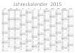 Kalender 2015 Jahresplaner Jahreskalender Wandkalender grau