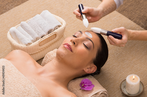Facial Treatment With Moisturizer
