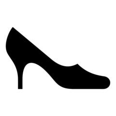 Symbol of female shoe
