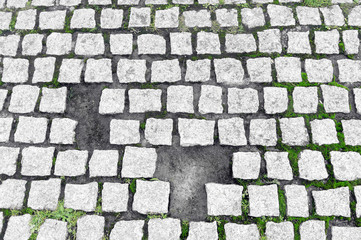 paving stones broken