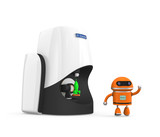 Personal compact 3D scanner and robot model