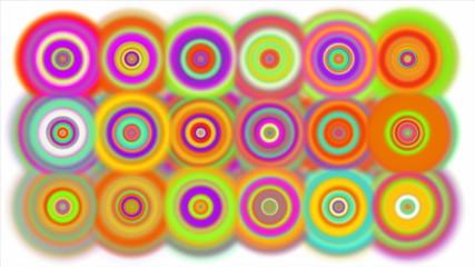 Colorful Mesmerizing Dots.