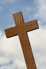 Wooden Cross Close-up