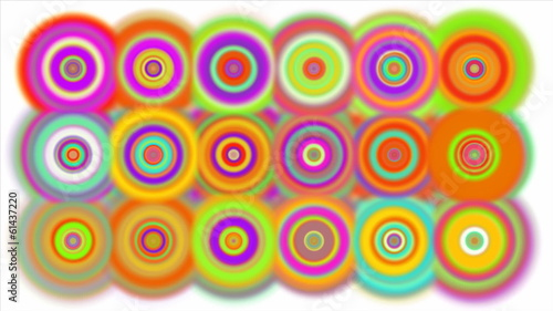 Colorful Mesmerizing Dots.