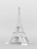 White Eiffel Tower