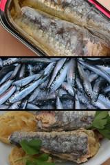 Conserve de Sardines à l'huile et Citron confit