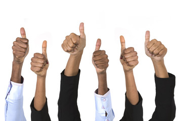 indian business peoples Thumbs Up