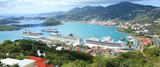 Fototapety St Thomas harbor of US virgin islands
