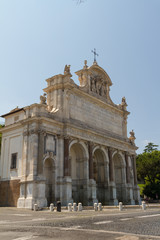 Great church in center of Rome, Italy.