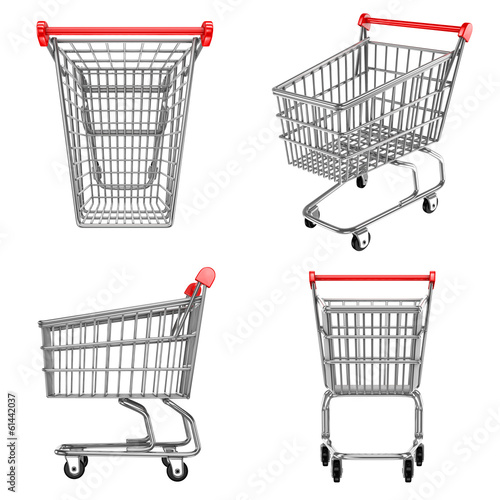 shopping carts icons