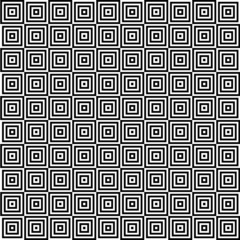 Square in square tile seamless pattern