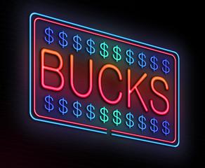 Bucks concept.