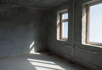 unfinished room