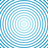 Turquoise line circle background