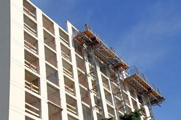 Démolition de bâtiment