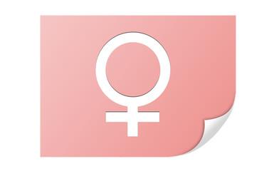 icona femmina