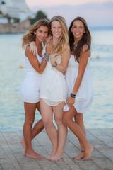 european teens on holiday