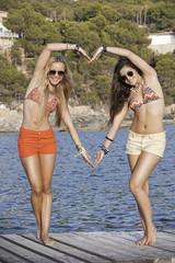I love Mallorca or Majorca