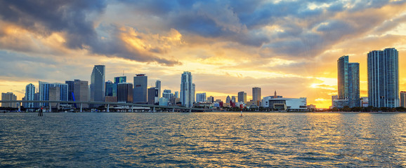 Miami, panoramic view