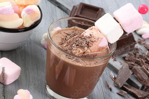 cioccolato e marshmallow