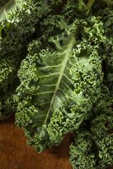 Healthy Raw Green Kale