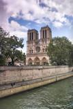 Fototapeta Paris - Paryż - katedra Notre Dame © edwardstrun