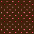 abstract seamless pattern with pink hearts