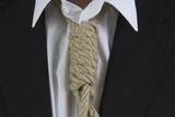 Businessman with noose around the neck