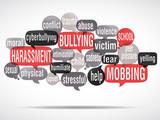 word cloud : stop bullying ! (cs5) poster