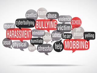 word cloud : stop bullying ! (cs5)
