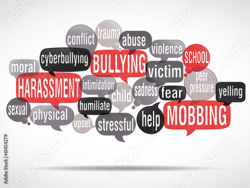 word cloud : stop bullying ! (cs5)