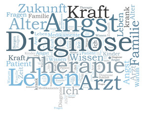 Diagnose word cloud